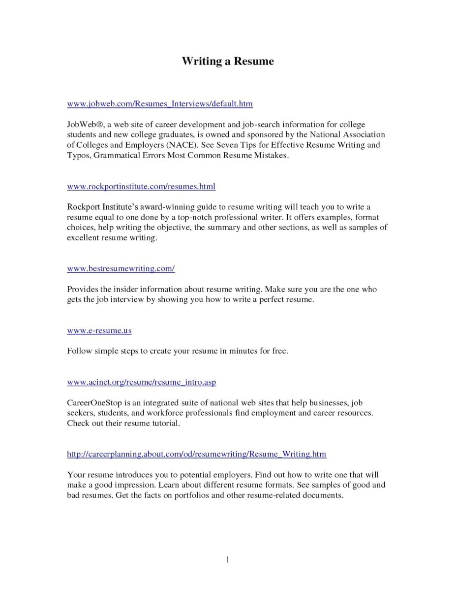 021 Resume Writing Service Reviews Format Best Writers Inspirational Help Professional Of Free Services How To Write Good Apa Research Unique A Paper Psychology Outline Do You