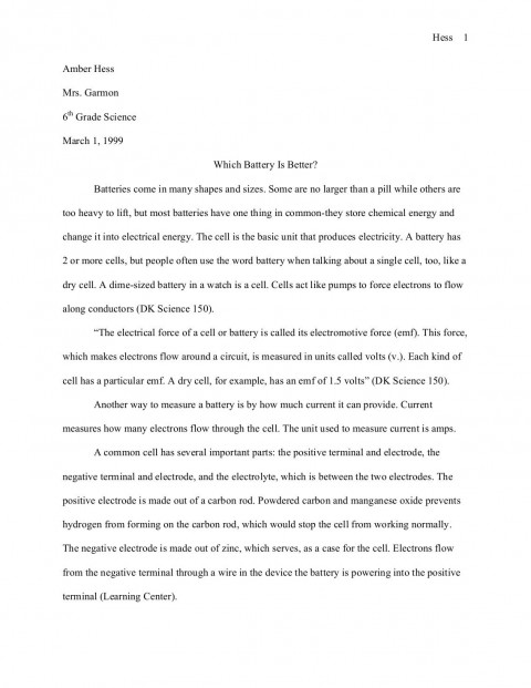 021 Science Buddies Sample Fair Researchquality85 Stunning Research Paper Example High School Middle 480