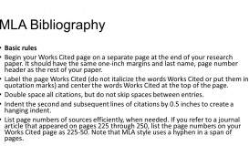 021 Slide 5 Research Paper Bibliography Page Imposing For How To Make A Works Cited Example Citation