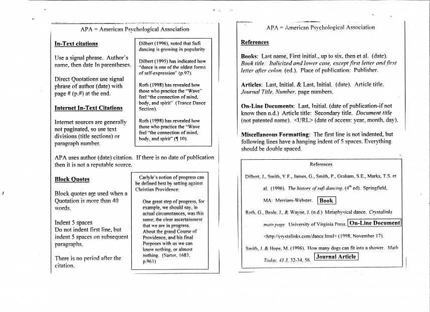 022 Apa Style Research Papermat Examples 618589 Imposing Format For Paper Sample Pdf 6th Edition Example