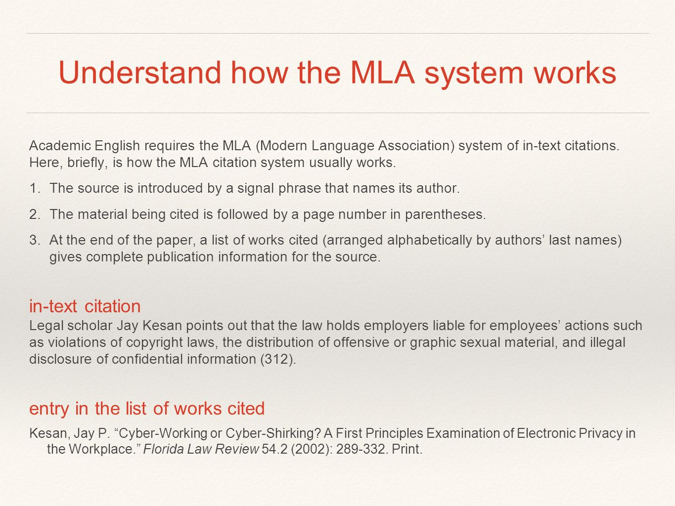 022 Citing Sources Mla Research Paper Slide 2 Awesome In Format Full
