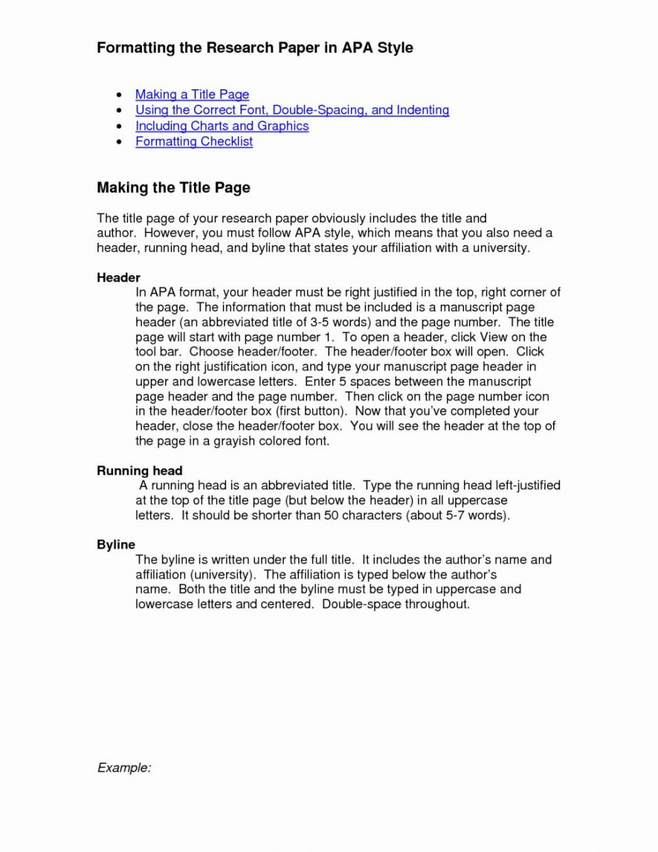022 Exampleearch Paper Apa Style Bunch Ideas Of Reference