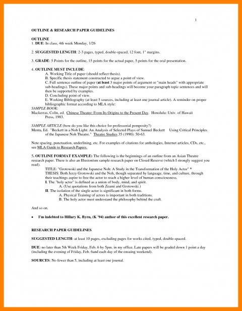 022 Format Of The Research Paper Mla Outline Examples 33896 Incredible Example Title Page Chapter 1 Imrad Pdf 480