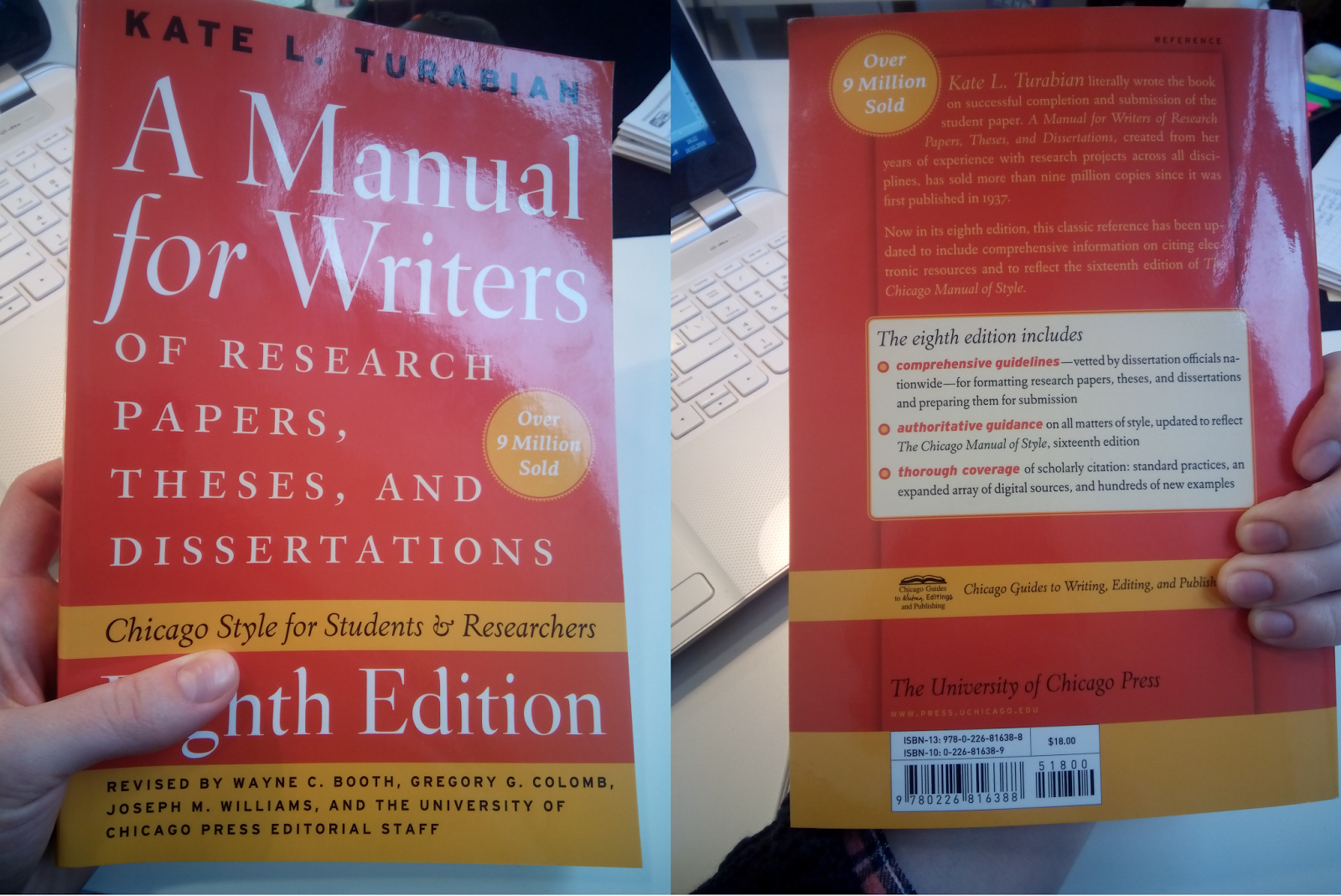 022 Manual For Writers Of Research Papers Theses And Dissertations Paper Sensational A Ed. 8 Turabian Ninth Edition Full