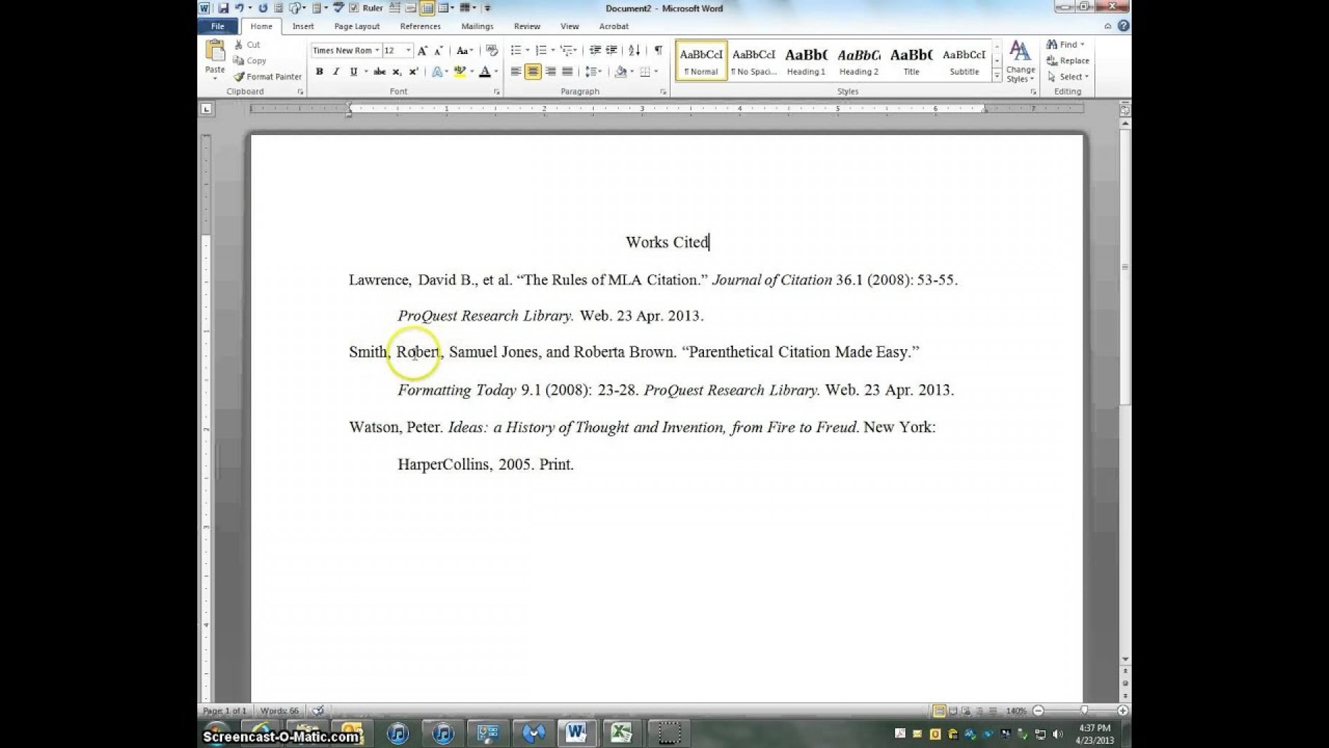022 Maxresdefault Citations In Research Paper Awesome A Mla Cite Style How To References Citing Website Format 1920