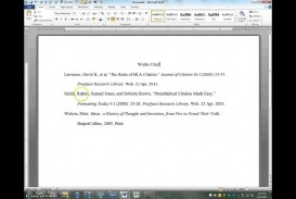 022 Maxresdefault Citations In Research Paper Awesome A Mla Citing Sources Citation Example