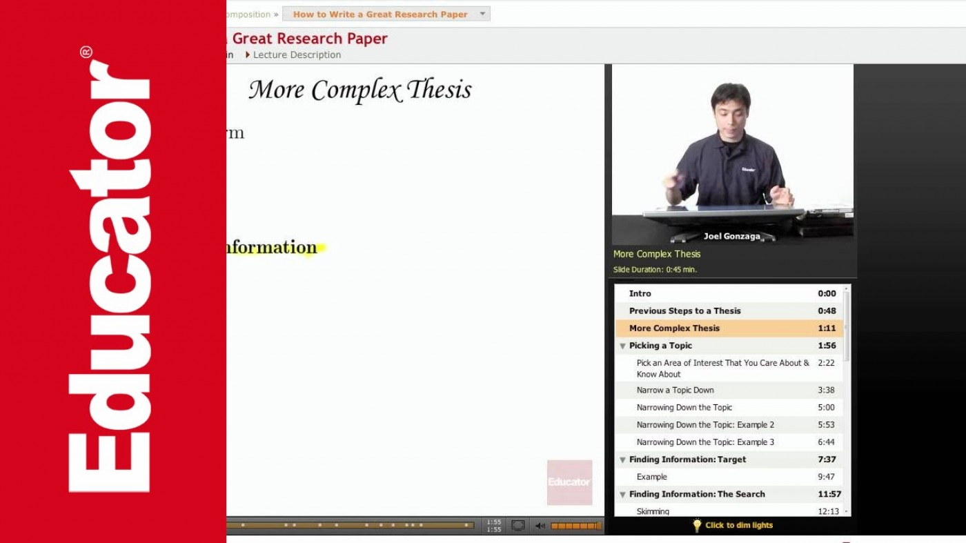 022 Maxresdefault How To Write Good Research Paper Remarkable A Youtube In Apa 1400