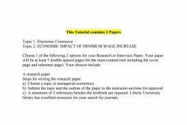 022 Page 1 Minimum Wage Research Paper Astounding Topics