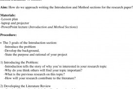 022 Page 16 Introduction To Research Paper Outstanding Ppt How Write In An For A Powerpoint