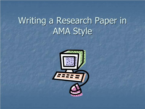 022 Powerpoint Presentation Format For Research Paper Writing In Ama Style Unique Sample Ppt 480