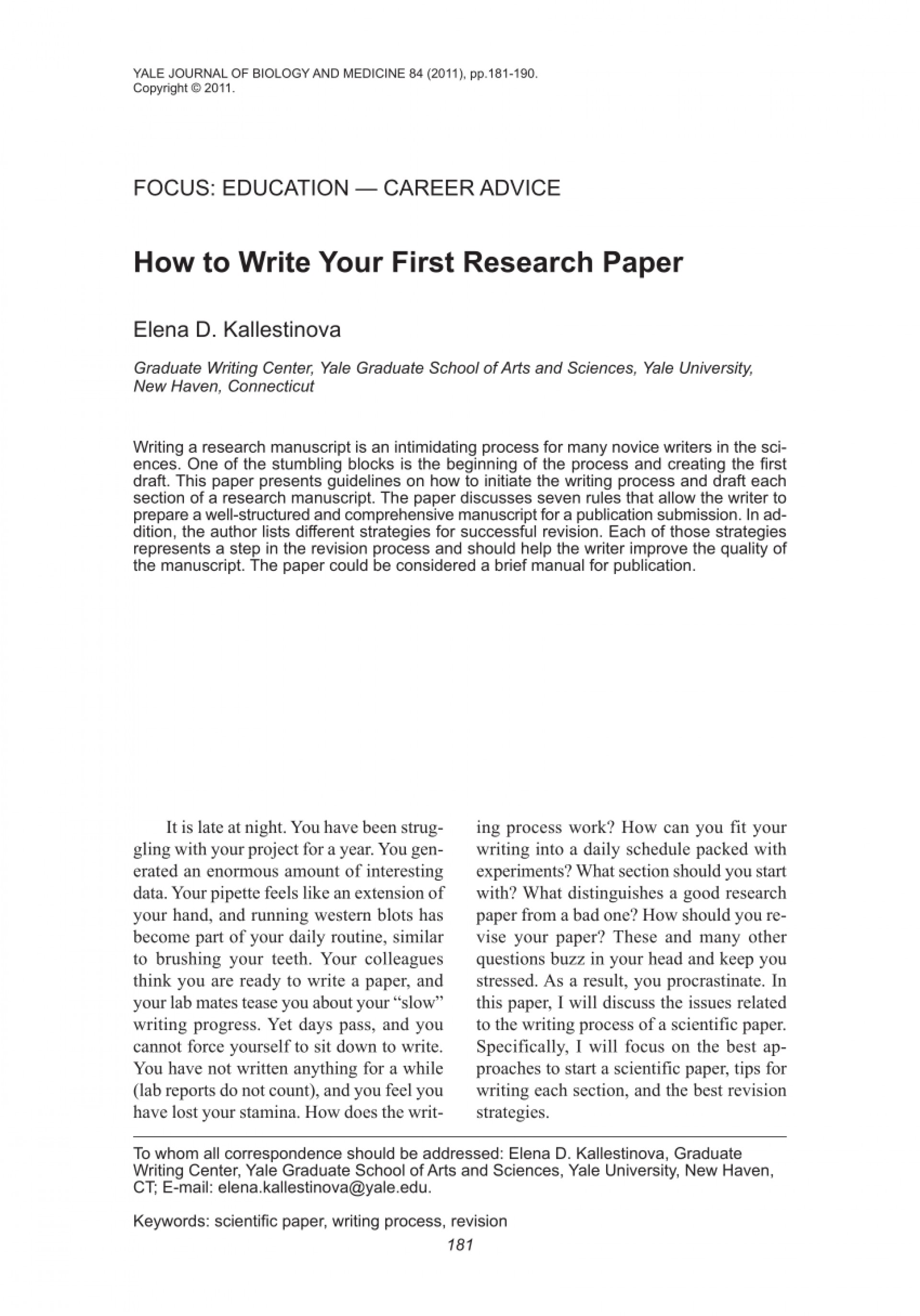 022 Research Paper About Writing Rare Essay On Process Topics For College 1920