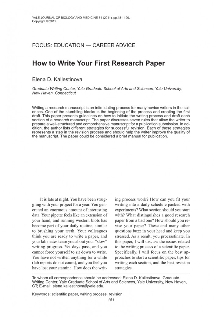 022 Research Paper About Writing Rare Skills Pdf Report Process Creative 728