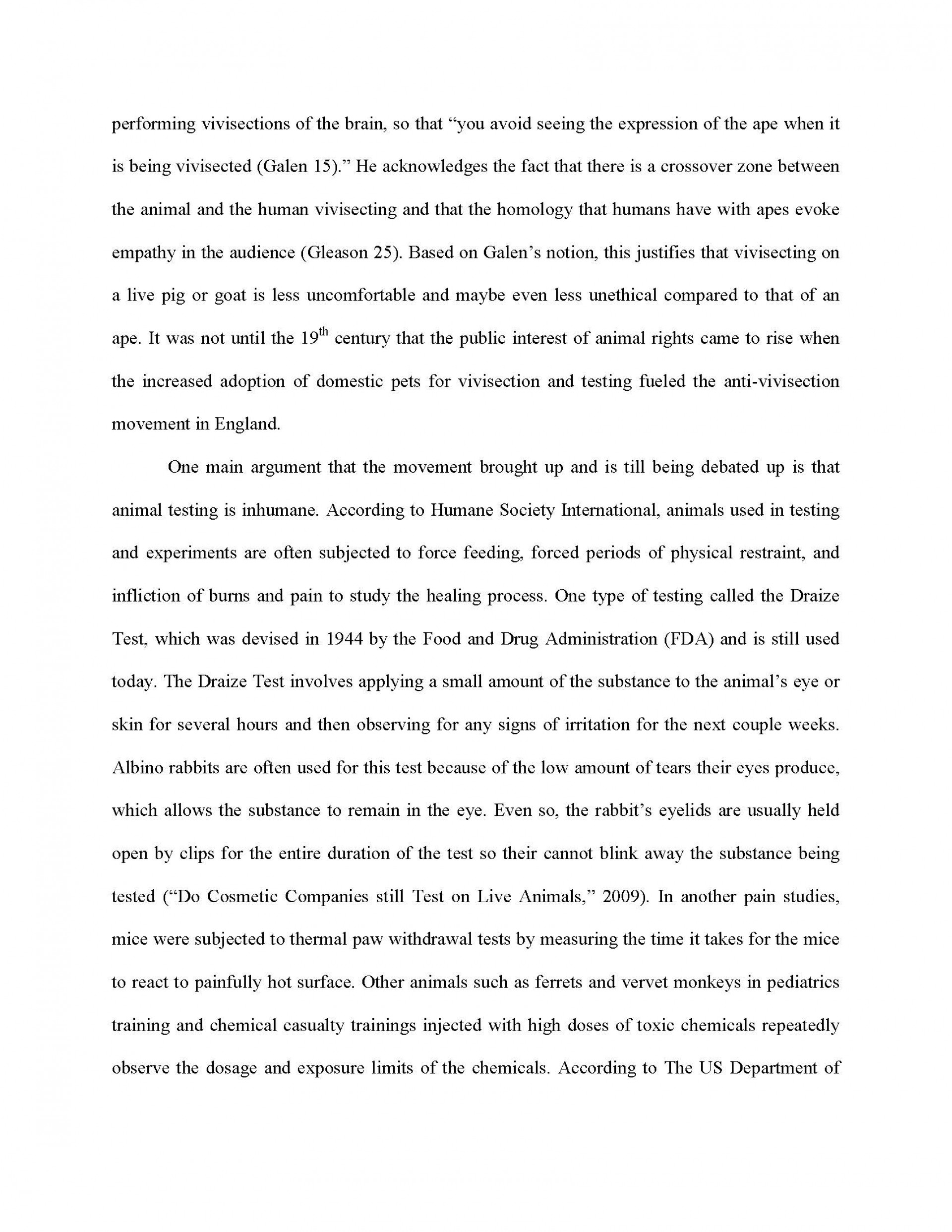 022 Research Paper Animal Testing Argumentative Essay Title Titles Outline Cosmetic Striking 1920