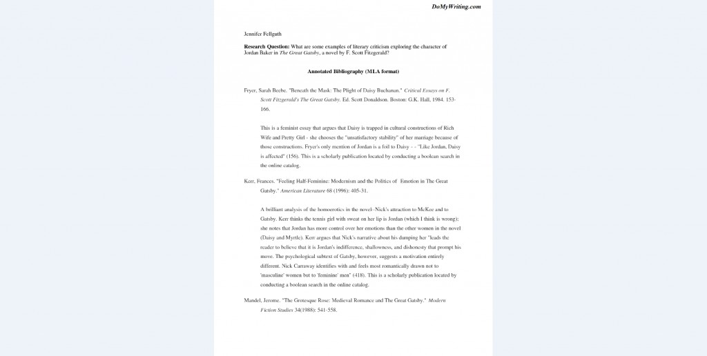 022 Research Paper Bibliography Sample Annotated Example Dreaded Format For Citing A Large
