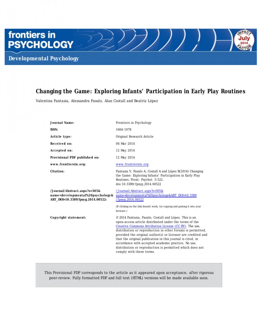 022 Research Paper Developmental Psychology Topics Dreaded For Papers In Potential