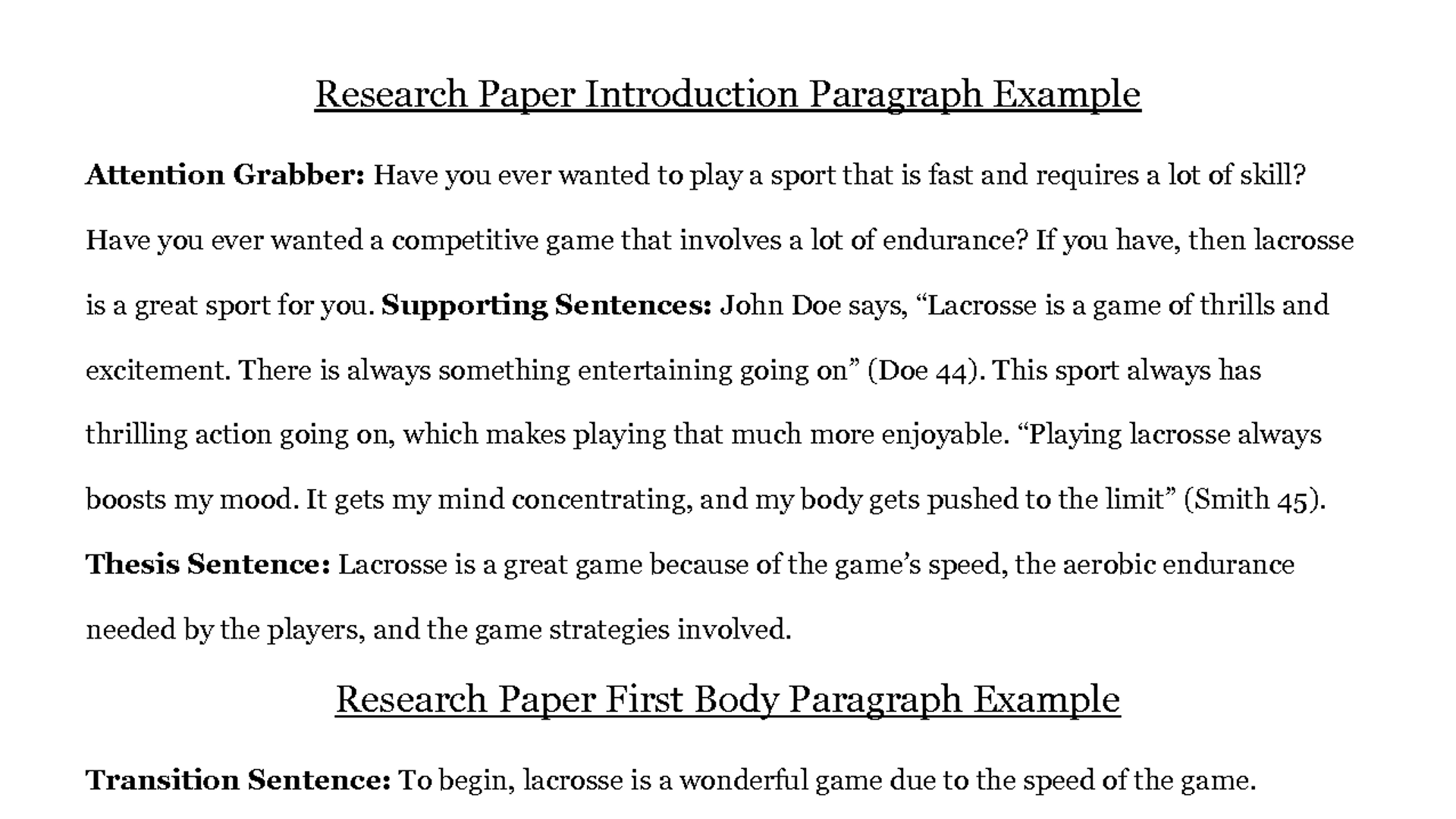 022 Research Paper Good Introduction Sentences For Marvellous Example Conclusion Essays Format Essay Conclusions Examples Template Rare Paragraph A How To Write Introductory Full