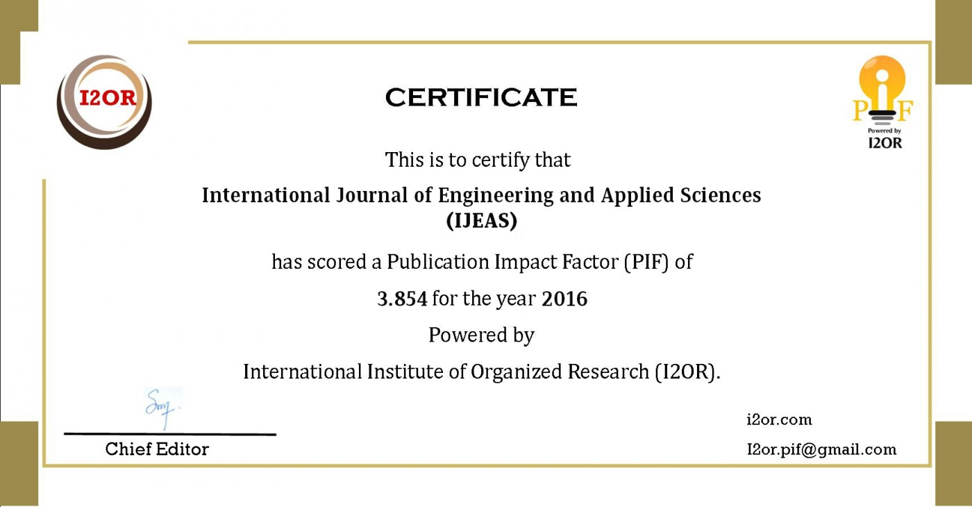 022 Research Paper Ijeas20pif Best Journals To Publish Stunning Papers In Computer Science List Of 1400