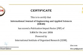 022 Research Paper Ijeas20pif Best Journals To Publish Stunning Papers In Computer Science List Of 320