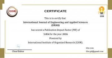 022 Research Paper Ijeas20pif Best Journals To Publish Stunning Papers In Computer Science List Of 360