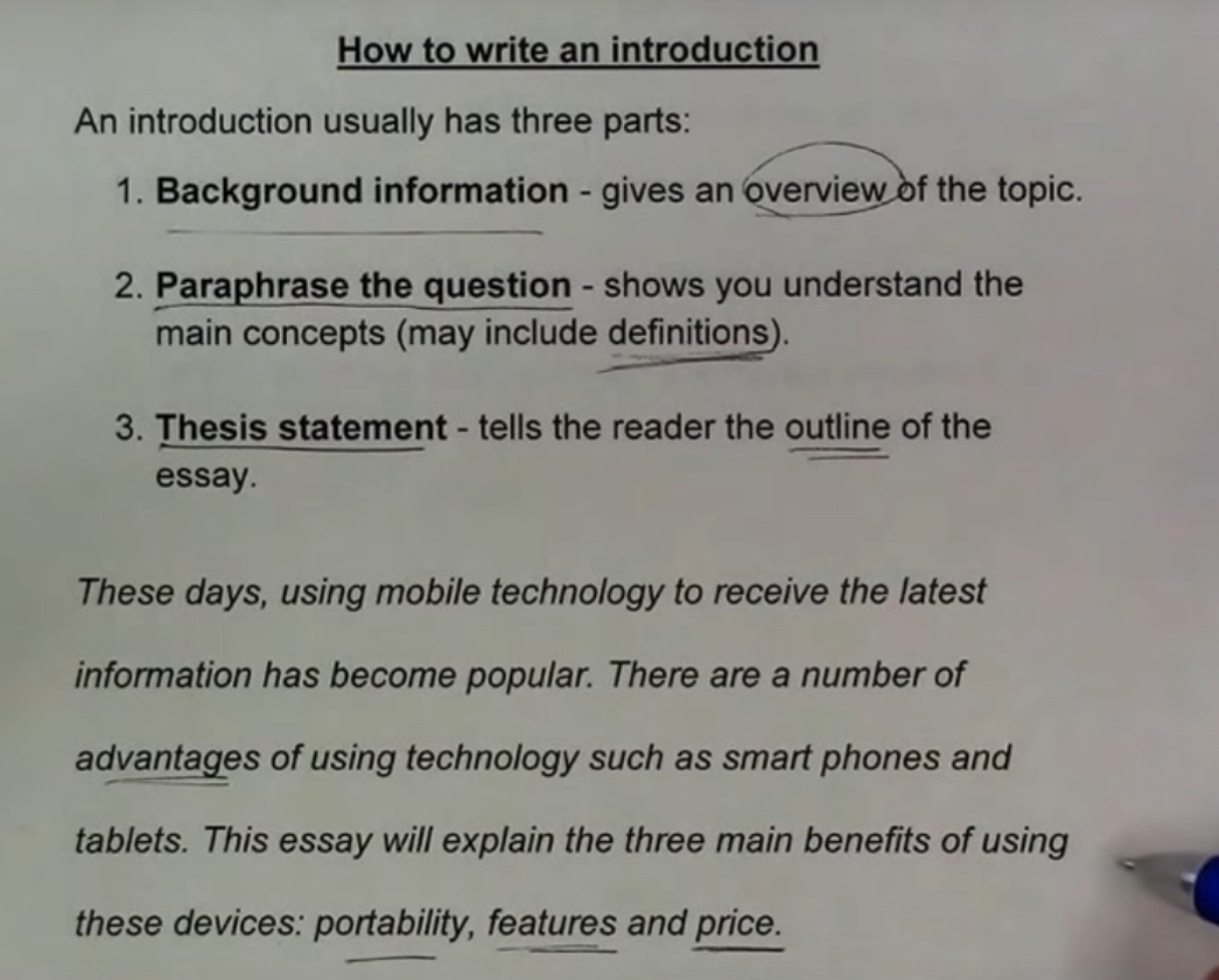 022 Research Paper Introduction To Fearsome A Example How Write An Pdf Paragraph For Mla 1920