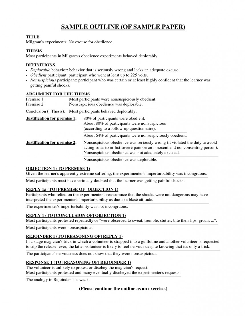 022 Research Paper Outline Apa Format Template L Magnificent A Example Of 6th Edition Sample In