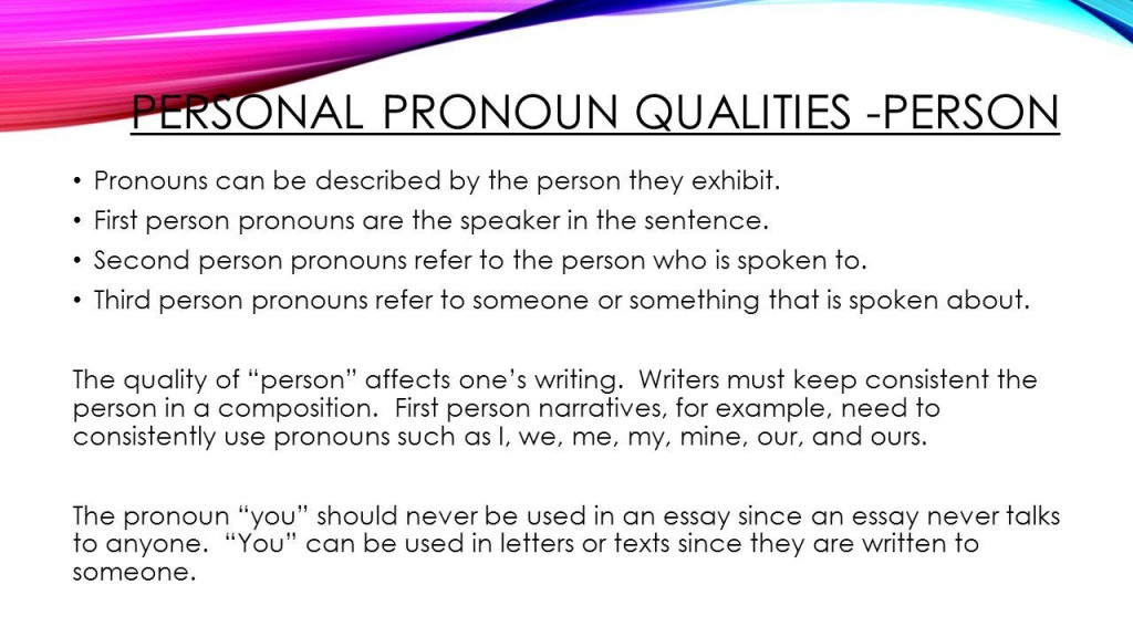 022 Research Paper Personalpronounqualities Person Can Written In Archaicawful A Be First Is The Voice Large