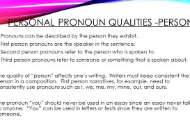 022 Research Paper Personalpronounqualities Person Can Written In Archaicawful A Be First Is The Voice