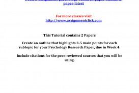 022 Research Paper Psychology Best Outline Apa 320
