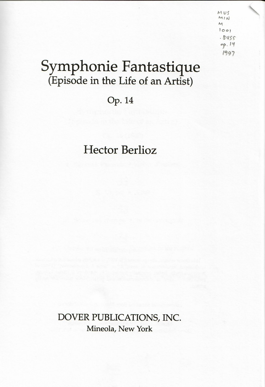 022 Symphonie Fantastique Cover Page Research Paper Staggering Citing Citations And References Citation Mla In Text Apa