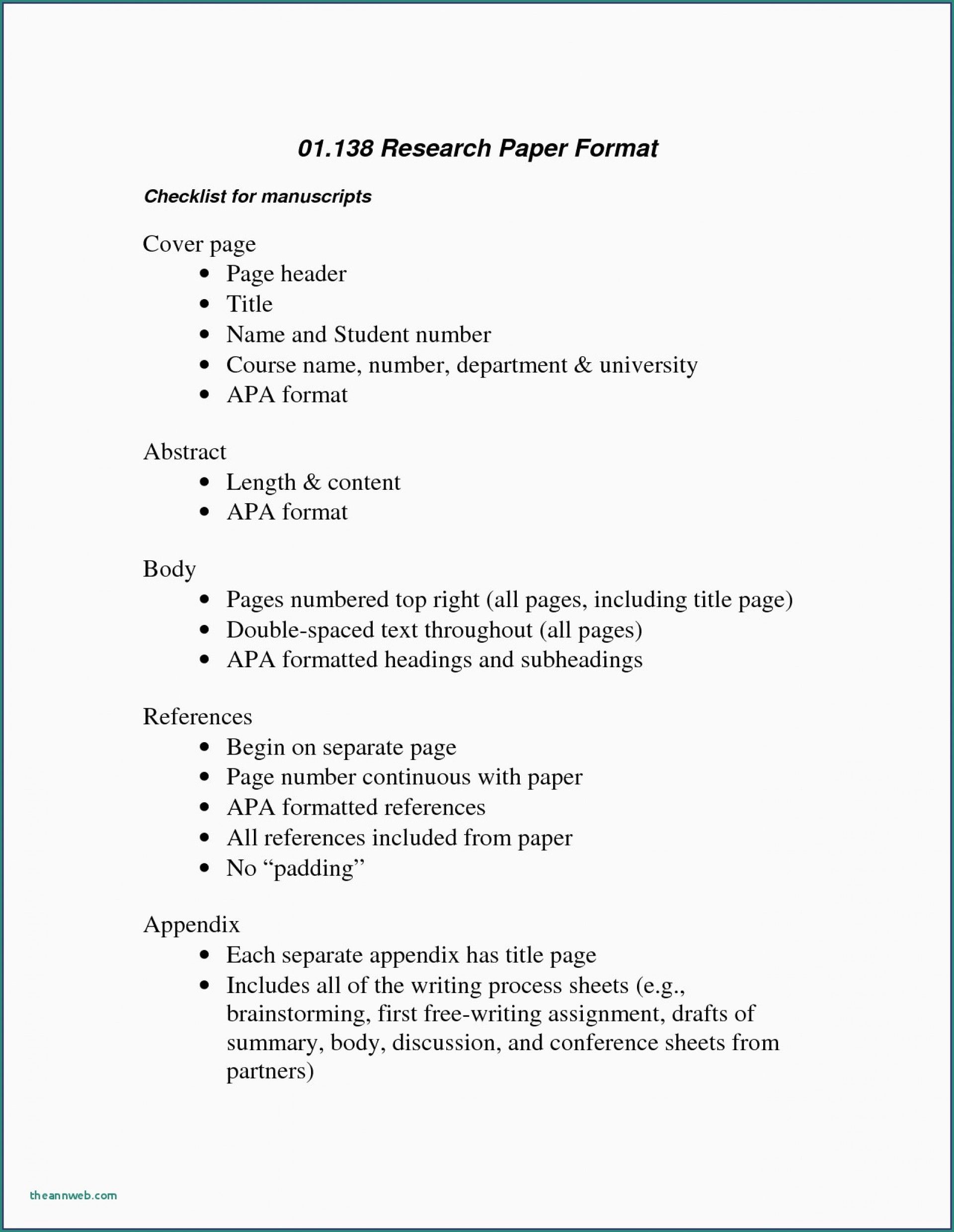 023 Apa Format Research Paper Sample Psychology Elegant Essay New Template Resume Fascinating Example 6th Edition 2012 1920