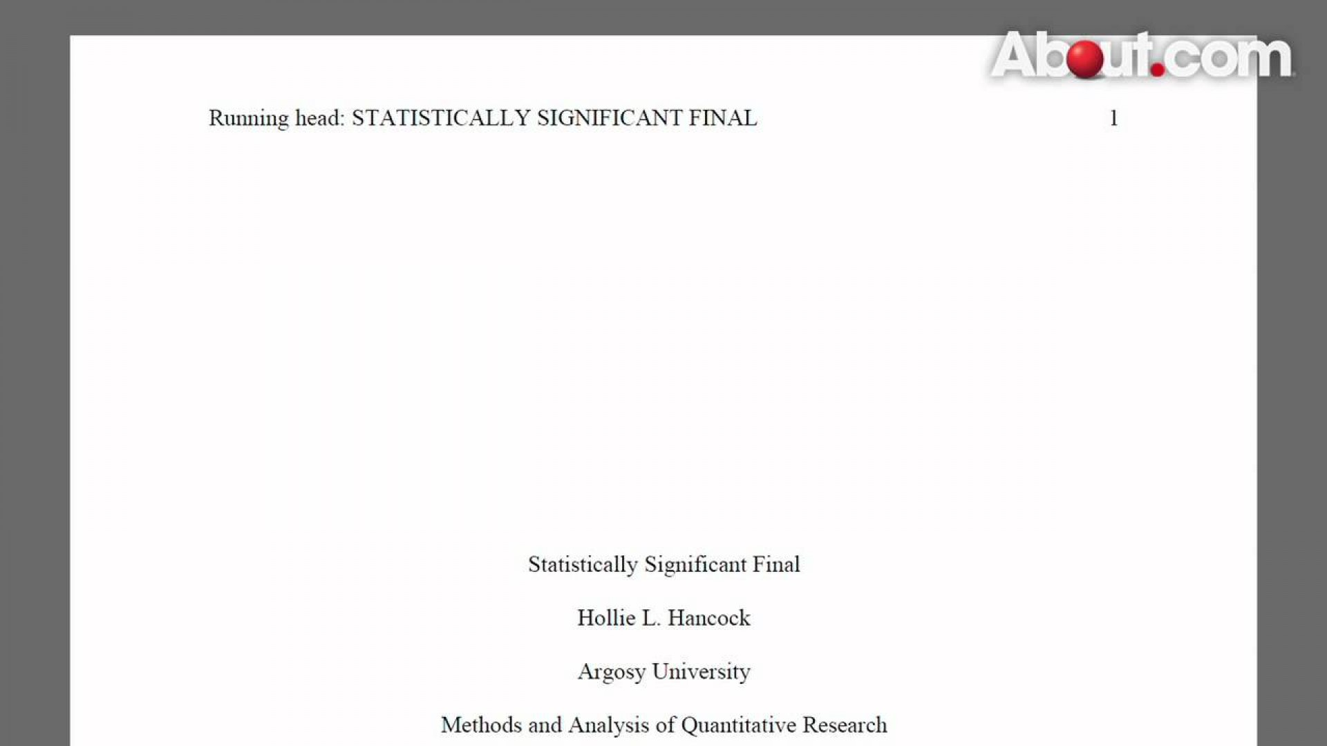 023 Apa Style Research Paper Example Title Page 82515 Stunning 2013 1920