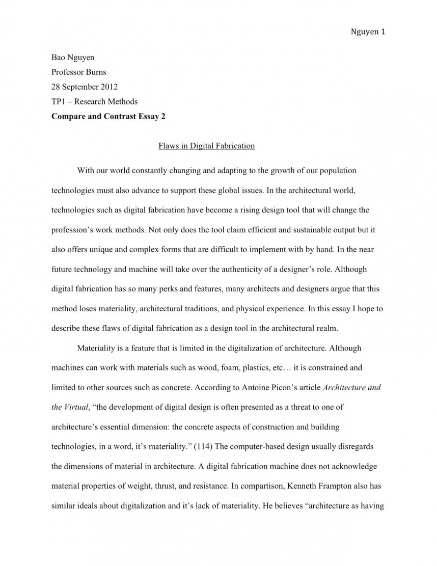 What Is The Thesis Of An Essay  Essay On High School Experience also Personal Narrative Essay Examples High School Essay Thesis For Compare And Contrast Essay Examples Thesis  Proposal Argument Essay Examples