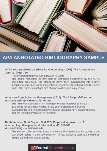 023 Free Online Research Paper Generator Apa Annotated Bibliography Outstanding Outline 360
