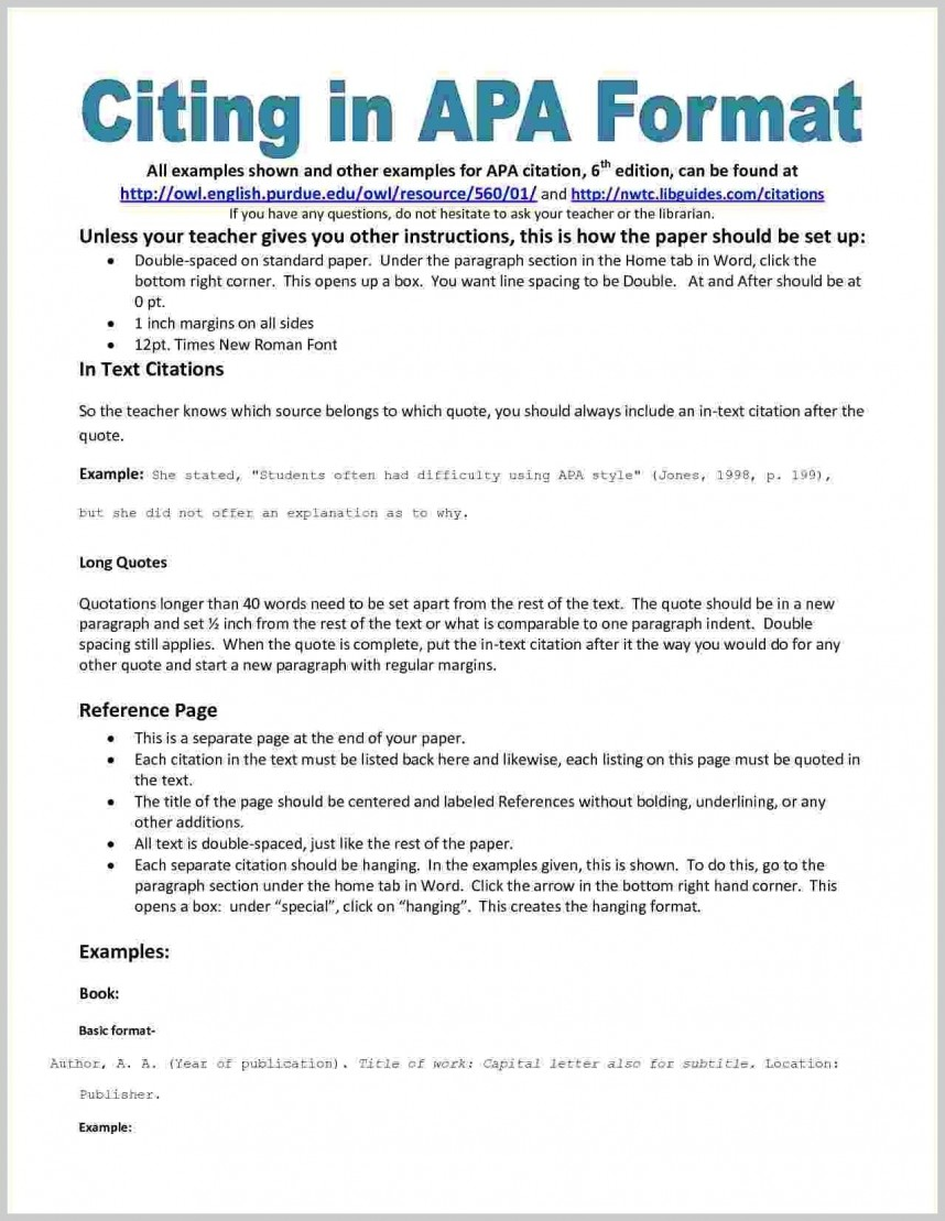023 In Text Citation For Research Paper Mla Apa Style Reference Examples Toreto Co Marvelous