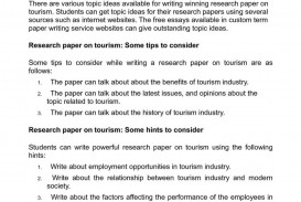 023 Research Paper 20calama20c220a9o On Tourism Useful And Great Ideas For Students Topics To Write About20 1024x1449 Sensational Health Related Public