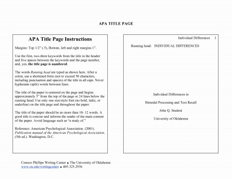 023 Research Paper Apa Cover Page Examples Pages Unique Section Headings The American Psychological Wondrous 480