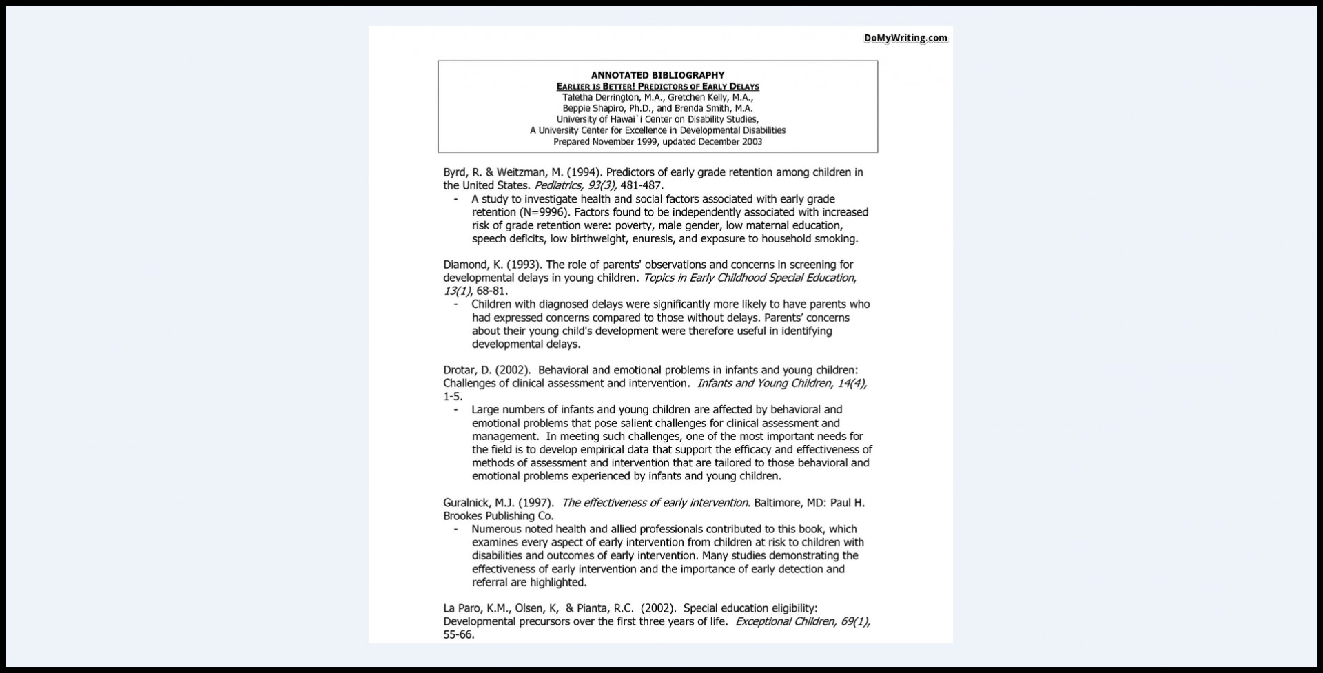 023 Research Paper Bibliography Sample Annotated Dreaded Format For Citing A 1920