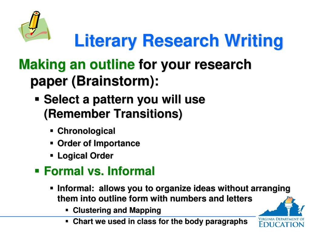 023 Research Paper Chronological Order Of Awesome A Large