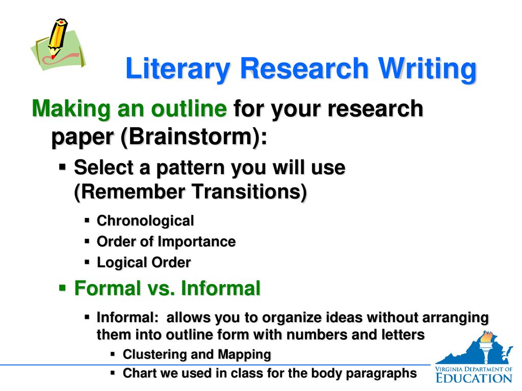 023 Research Paper Chronological Order Of Awesome A Full