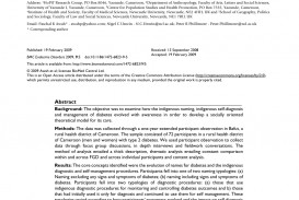 023 Research Paper Diabetes Fascinating Pdf Outline