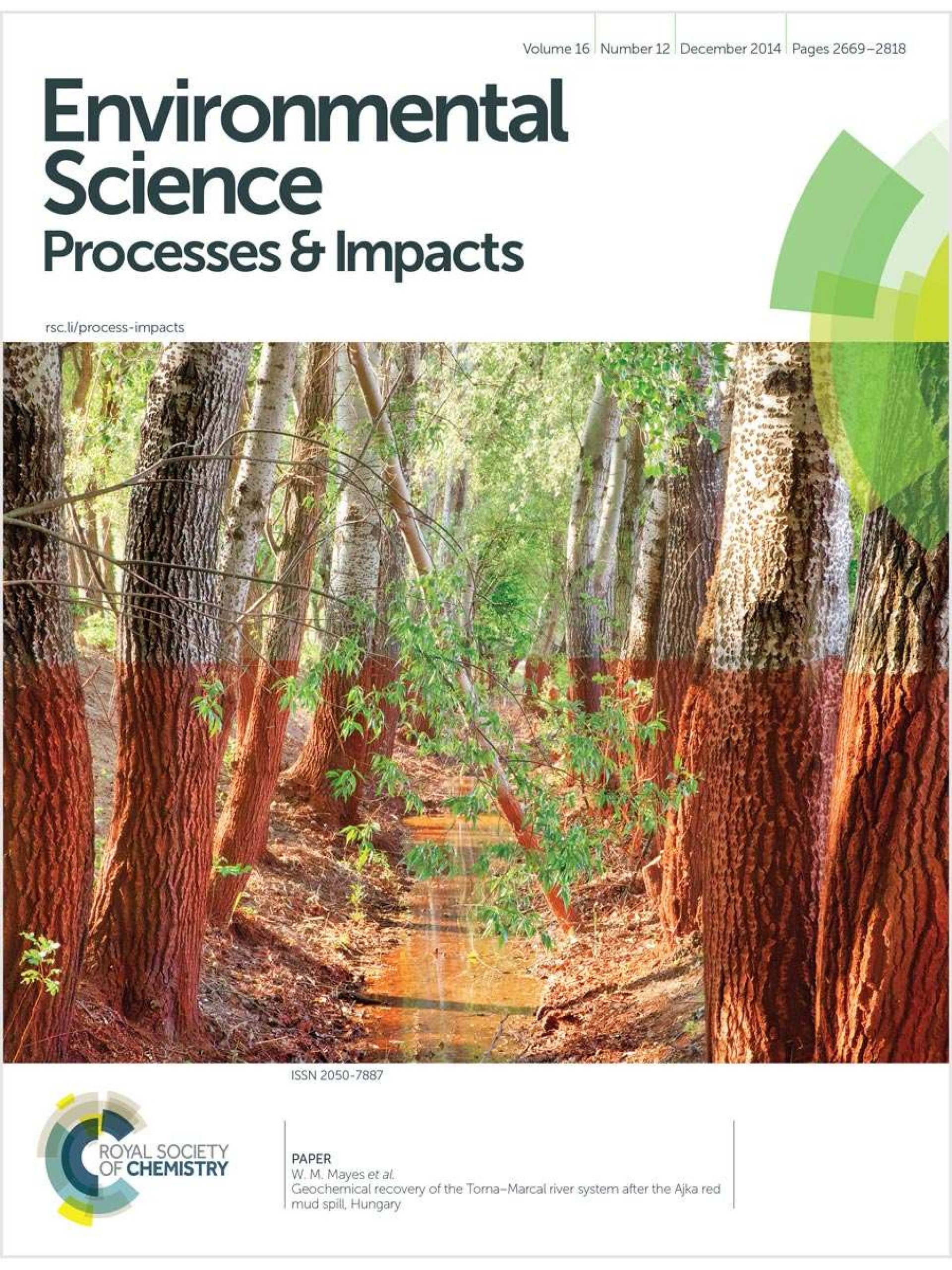 023 Research Paper Environmental Chemistry Topics 1036 Env Science Process And Impacts F2c Rare 1920