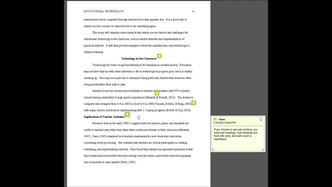023 Research Paper How To Format In Apa Style Marvelous A Formatting Youtube Full