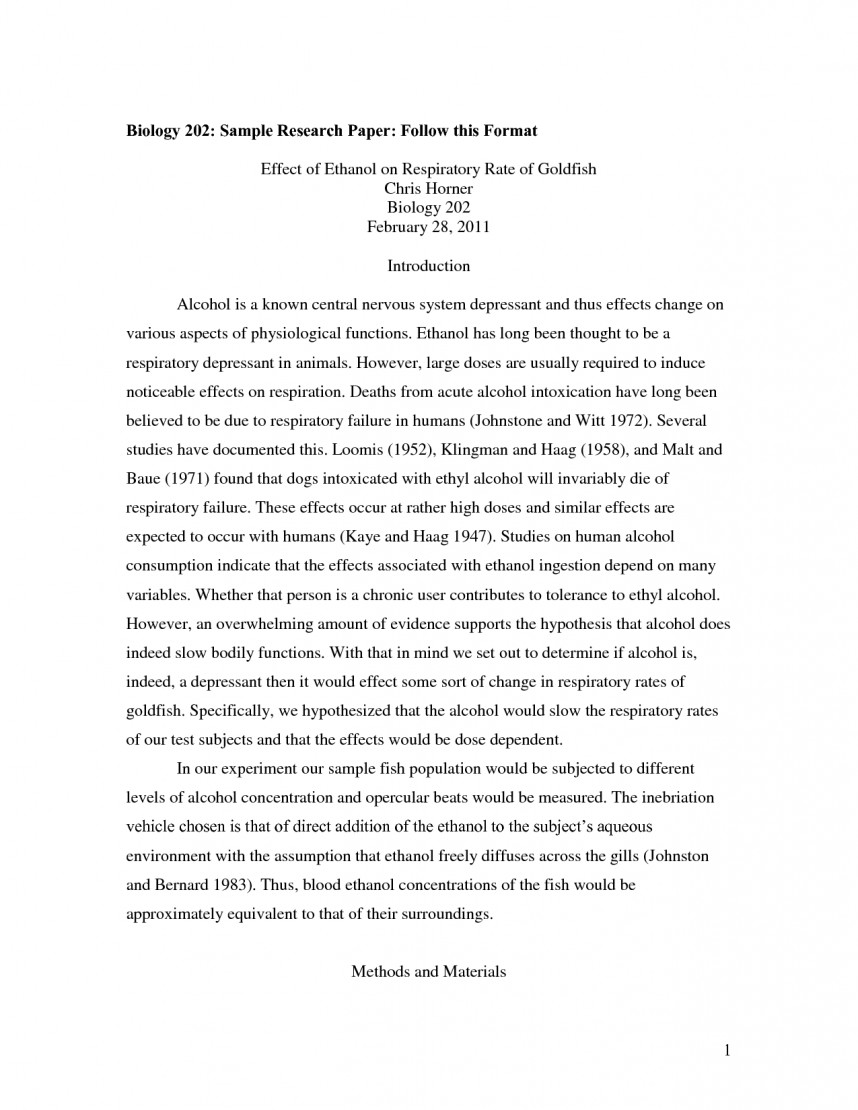023 Sample Research Paper Format 473282 Example Of In Apa Stirring Style Examples Papers Written Using How To Write A 6th Edition