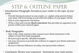 023 Step63aoutlinepaperintroductionparagraph3aintroducesyourreadertothetopicofyouressay How To Start Research Paper Frightening Paragraph Your First Body In A Conclusion