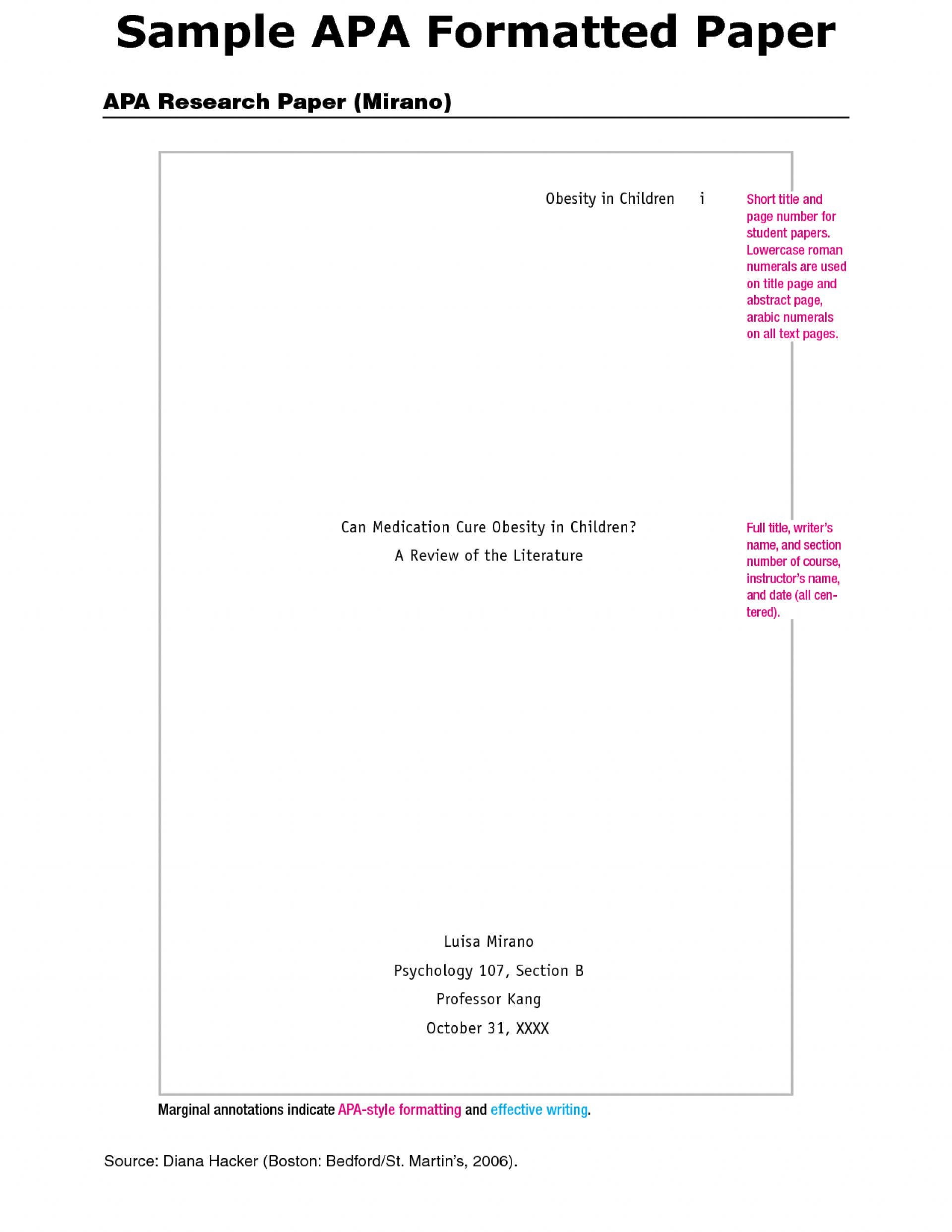 024 Apa Research Paper Literature Review Sample Template Unique 1920