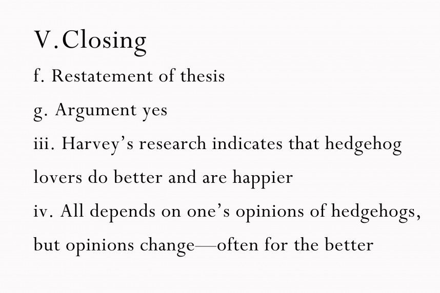 024 Argumentative Research Paper Thesis Examples Create An Outline For Step Version Best
