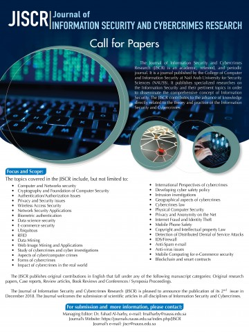 024 Call For December Cyber Security Research Dreaded Paper Papers 2018 Pdf Ieee On 2019 360