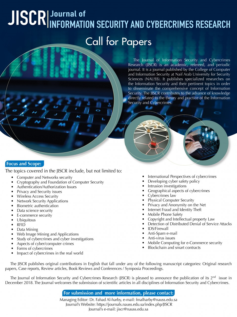 024 Call For December Cyber Security Research Dreaded Paper 2019 Papers 2018 960