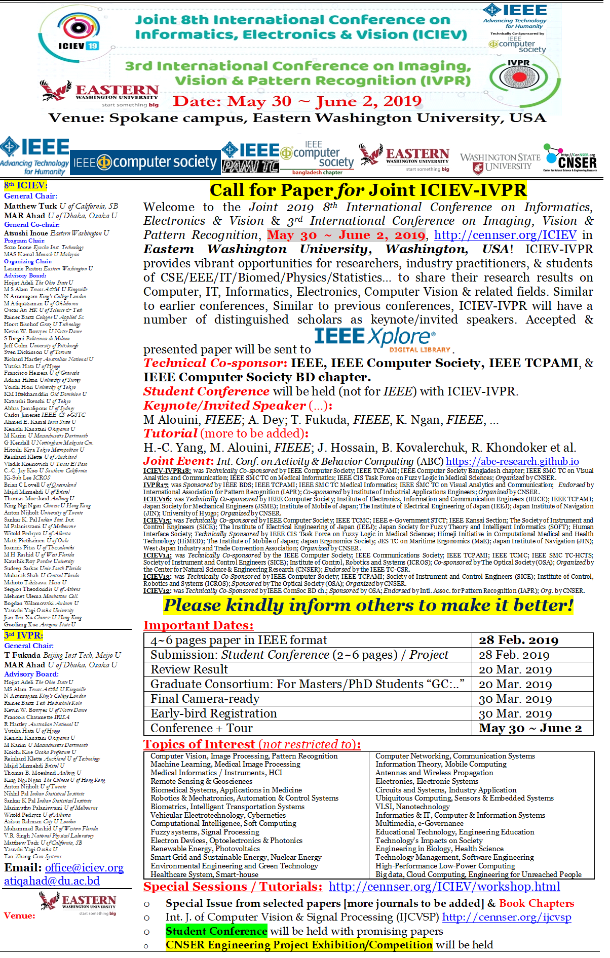 024 Cfpiciev Research Paper Ieee Papers In Computer Science Phenomenal Pdf Full