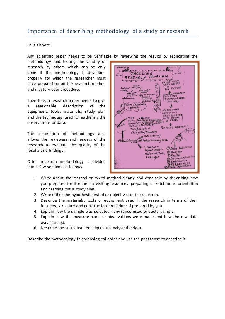 024 Chronological Order Of Research Paper Importanceofdescribingmethodologyofastudyorresearch Thumbnail Awesome A Full